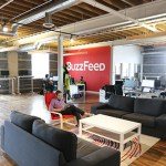 With its hardwood floors, an open floor plan and exposed brick and timber, HyperIQ's founder Phil Wilson says the space resembles BuzzFeed's SoHo office.
