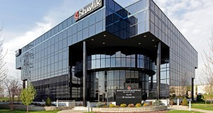 The 76,575-square-foot office building at 2665 Long Lake Road in Roseville is part of the Roseville Corporate Center. The office property was included in a portfolio sale between real estate investors in late May. (Submitted photo: CoStar Group)