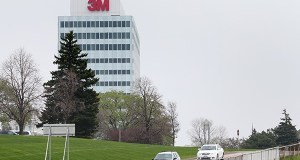Maplewood-based 3M has already cut 50 jobs at a Kentucky plant and 40 workers at a California facility. (File photo: Bill Klotz)