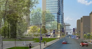 UNITED - Gateway tower rendering daytime