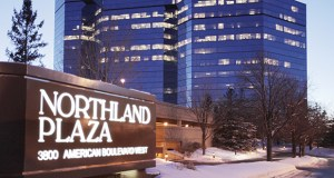 A Fargo-based real estate investment trust plans to buy a share of the 298,171-square-foot Northland Plaza at 3800 American Blvd. W. in Bloomington. (File photo: Bill Klotz)
