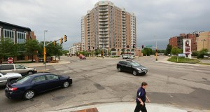 Hennepin County is taking the lead on a project that will reconstruct a busy stretch of 66th Street in Richfield, including this intersection at Lyndale Avenue, where a roundabout is planned. Construction is expected to start in 2017.