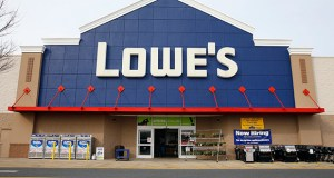 This March 25, 2014, photo shows a Lowe's store in Philadelphia. Lowe's Cos. reported Wednesday that increased demand for appliances help drive its second-quarter revenue. (AP File Photo)