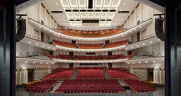 """Northrop Auditorium's renovation improved the site lines, added two more balcony levels and improved the auditorium's acoustics to """"world class"""" levels. (Submitted photo)"""