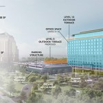 Plans for the building call for more than 317,700 square feet of office space and multiple outdoor terraces. (credit: CBRE Group)