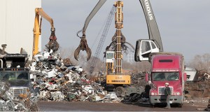 Northern Metals operates a shredding plant at 2800 Pacific St. in Minneapolis. (File photo: Bill Klotz)