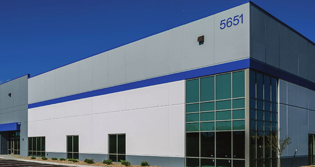 Liberty Property Trust closed Nov. 12 on its purchase of a 197,956-square-foot spec warehouse building. The property at 5601 Innovation Blvd. is part of The Opus Group's Valley Park Business Center in Shakopee. Submitted photo: Liberty Property Trust