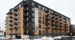 The 158-unit, $40 million Millennium at West End is the first completed Twin Cities project by Florida-based DLC Residential. Staff photo: Bill Klotz