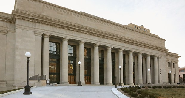The Gold Line is a planned 12-mile corridor from St. Paul's Union Depot, pictured, to the city of Lake Elmo, which recently opted out of the alignment. Planners are working to get the line back on track with a new alignment. (File photo: Bill Klotz)