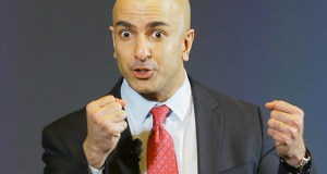 """""""We're going to continue to invite them [banking industry], say they're welcome to participate, but we're not going to allow them to derail our process,"""" Minneapolis Federal Reserve Bank President Neel Kashkari said Monday at the bank's complex in Minneapolis. Staff photo: Bill Klotz"""