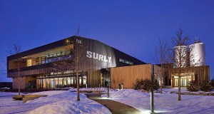 The $17 million Surly Destination Brewery at 520 Malcom Ave. SE in Minneapolis sits on a former Superfund site that once held a potato-processing plant. It required extensive remediation before it could be turned into a 50,000-square-foot brewery. (File photo: Submitted photo)