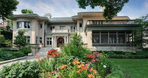 The longtime owners of the Renaissance Revival mansion have sold it for $2.95 million, but they loved the neighborhood so much they bought a smaller home nearby. (Submitted photo: Berg Larsen Group)