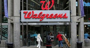 This June 4, 2014, photo shows a Walgreens retail store in Boston. Walgreens said Thursday it will probably have to unload more stores than originally expected in order to ease regulatory concern about its pending acquisition of Rite Aid. (AP file photo)