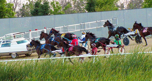 The Running Aces Casino & Racetrack, which opened in 2008 in Columbus, Minnesota, features harness racing during the summer months. (Submitted photo)