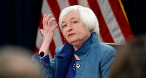 Federal Reserve Board Chair Janet Yellen listens to a reporter's question Wednesday during a news conference about the Federal Reserve's monetary policy in Washington. (AP Photo: Alex Brandon)