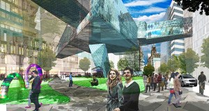 RSP Architects of Minneapolis and St. Louis-based HOK will be the design team for the redevelopment of the Discovery Square sub-district in Rochester. (Submitted rendering: Destination Medical Center Corp.)