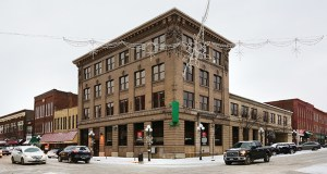 Associated Bank plans to move out of its three-building block at 222 Bush St. in downtown Red Wing in the near future, which will leave much or all of more than 32,000 square feet vacant and ready for a new use. (Staff photo: Bill Klotz)