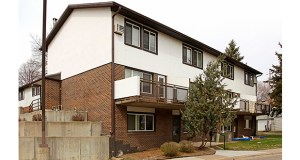 The 96-unit Hanover Townhouses at 408 Farrington St. in St. Paul are slated for $3 million in renovations and a major refinancing that will keep them affordable by preserving their designation as Section 8 affordable housing. (Submitted photo: CoStar)