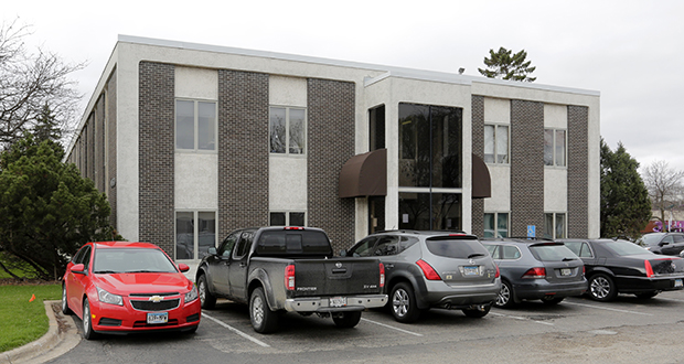 An entity related to Edina-based Aurora Investments LLC on April 15 purchased a two-story office building at 6950 France Ave. S. in Edina for more than three times what was paid for it in 1996. (Submitted photo: CoStar)