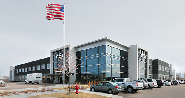 A group of nine LLCs now owns Cardiovascular Systems Inc.'s 125,000-square-foot office at 1225 Old Highway 8 NW in New Brighton. (Staff photo: Bill Klotz)