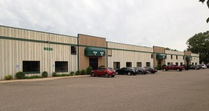 An East Bethel-based investment group has paid $2.06 million for this 48,000-square-foot Class C multi-tenant office warehouse at 6230 McKinley St. in Ramsey. (Submitted photo: CoStar)