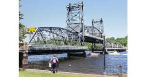 Kraemer North America was the apparent low bidder for a project that will convert the historic Stillwater Lift Bridge into a bicycle and pedestrian crossing. Kraemer's bid was $8.66 million. (Staff photo: Bill Klotz)
