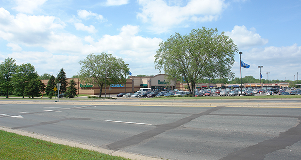 A Canadian investment company has paid $13.4 million for Mapleridge Shopping Center at 2500 and 2501-2515 N. White Bear Ave. in Maplewood. The 22-acre site includes room to add up to 5,000 square feet of freestanding retail space. (Submitted photo: CoStar)