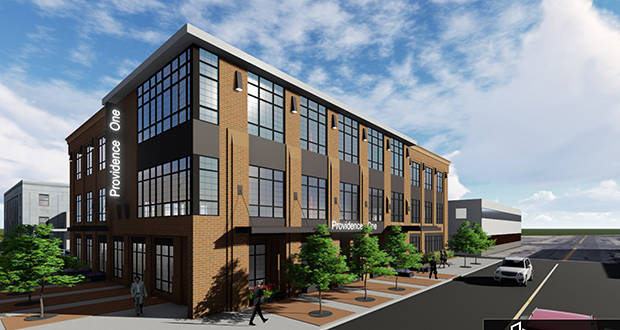 Developer Douglas Boser of St. Cloud-based Inventure Properties has unveiled plans for Providence One, a new $15 million, 60,000-square-foot office building at 24 Eighth Ave. S., in downtown St. Cloud, Minnesota. (Submitted photo: Inventure Properties)