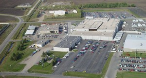 Digi-Key, a global distributor of electronic components, will build a 1 million-square-foot addition to its 700,000-square-foot headquarters in Thief River Falls, Minnesota. (Submitted photo)