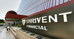 Hennepin County's total investment in the Thrivent headquarters, at 625 Fourth Ave. S. in downtown Minneapolis. (Staff photo: Bill Klotz)