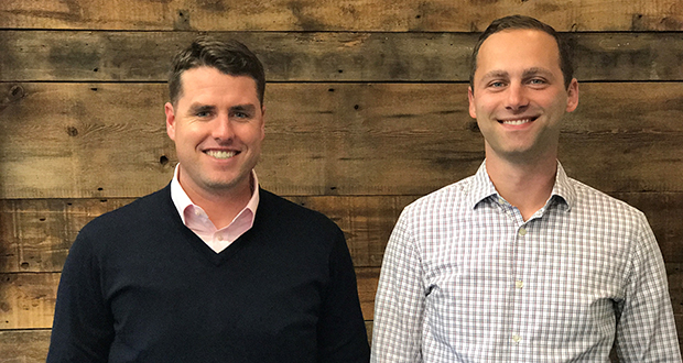Joe Boone, left, and Jim Hegedus recently left The Excelsior Group to found their own commercial real estate investment company, Water Street Partners. (Submitted photo: Water Street Partners)