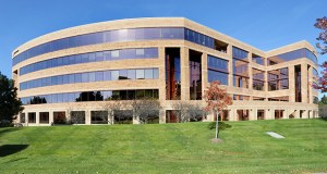 UnitedHealth Group once was a tenant in the 164,931-square-foot office building it purchased at 5995 Opus Parkway in Minnetonka. (Staff photo: Bill Klotz)