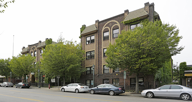 First-time buyer Rachael Zenk has paid $8.75 million for the vintage President Apartments at 2020 Nicollet Ave. in Minneapolis. (Submitted photo: CoStar)