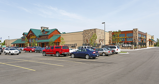 The 85,000-square foot Cabela's store at 8400 Hudson Road in Woodbury opened in 2014. (Submitted photo: CoStar)