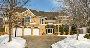This six-bedroom, six-bath, 6,772-square-foot home at 18800 Melrose Chase in Eden Prairie has hit the market for $1.395 million, complete with an updated interior and a location on the 14th hole of Bearpath Golf & Country Club. (Submitted photo: Spacecrafting)