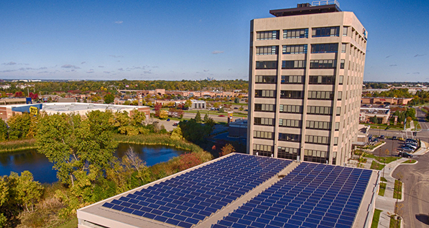 IPS Solar provides third-party financing options for community solar gardens, schools and commercial buildings. (Submitted photo)