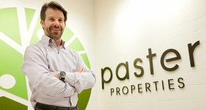 Howard Paster moved Paster Properties two years ago from its previous longtime office space on University Avenue in St. Paul to the Westside Center in St. Louis Park. (Staff photo: Matt M. Johnson)