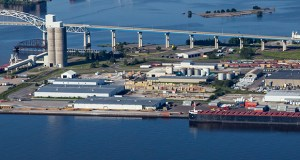 Port facilities in Duluth helped handle part of Minnesota's first-quarter record exports of nearly $5.3 billion. The Minnesota Department of Employment and Economic Development reported the export number Tuesday. (Submitted photo: Duluth Cargo Connect)
