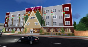 The St. Paul-based Ain Dah Yung Center and Minneapolis-based Project for Pride in Living hope to start construction as soon as August on this $11.3 million housing and supportive services project at 771 and 769 University Ave. in St. Paul. (Submitted image)
