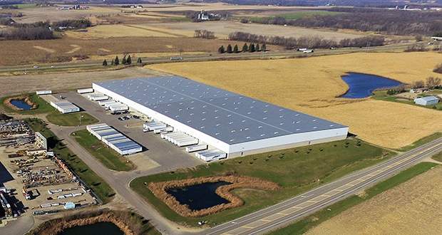 Faribault beat out competitors across the U.S. and Mexico to convince Plymouth-based Daikin Applied Americas to pay $9.4 million for this 300,000-square-foot distribution center at 15620 Acorn Trail and convert it to a state-of-the-art manufacturing plant. (Submitted photo: Met-Con Companies)