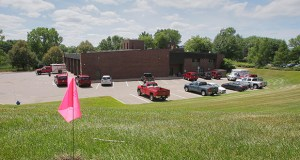 Minnetonka's new 60,000-square-foot fire station would be built next to the city's current fire station on its municipal campus at 14600 Minnetonka Blvd. (Staff photo: Bill Klotz)