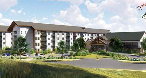 Benedictine Health System wants to build a 251-unit senior housing complex on the southeast corner of 17th Avenue West and Windermere Way in Shakopee. The plan includes assisted living, memory care, independent living and townhome components. (Submitted image: (Cuningham Group)