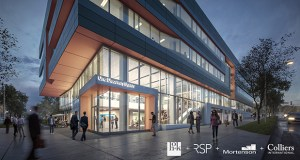 Golden Valley-based Mortenson said that Wisconsin-based software company Epic is joining Mayo Clinic and the University of Minnesota Rochester as tenants in the One Discovery Square building under construction in Rochester. (Submitted image: Mortenson)