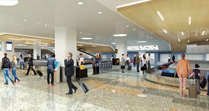 Fridley-based Morcon Construction was one of only two bidders for the first phase of this project to overhaul the baggage handling system at the Minneapolis-St. Paul International Airport. (Submitted rendering: Metropolitan Airports Commission)