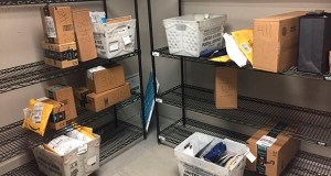 A June Supreme Court ruling gave states permission to require more companies to collect sales tax on online purchases. In this April 13 photo, packages from internet retailers are stored in an apartment building mail room in Washington. (AP file photo)