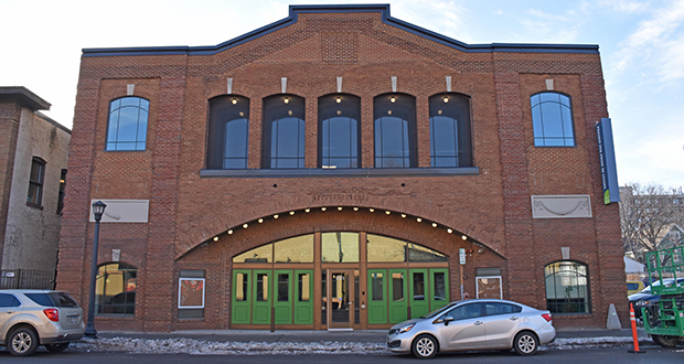The Franklin Theater's exterior façade was renovated to look much like it did in the 1910s and 1920s. The new workforce center for Project for Pride in Living is at 1021 E. Franklin Ave. in Minneapolis. (Submitted photo: PPL)