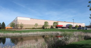The Wilfred Distribution Center in Rogers saw significant market activity in 2018, when owner Indianapolis-based Scannell Properties leased the 335,400-square-foot property at 13201 Wilfred Lane N. to Veritiv. (Submitted photo: CoStar)