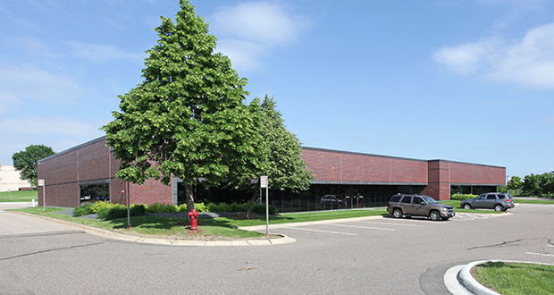 Local investors have paid $6.3 million for the fully-leased, 49827-square-foot Meridian Business Center at 7750 Meridian Circle N. in Maple Grove. (Submitted photo: CoStar)