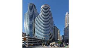 The two-building Fifth Street Towers  complex at 100 and 150 Fifth St. S. in Minneapolis was one of six building winners at last week's Building Owners and Managers Association of Greater Minneapolis gala and awards ceremony. (Submitted photo: CoStar)
