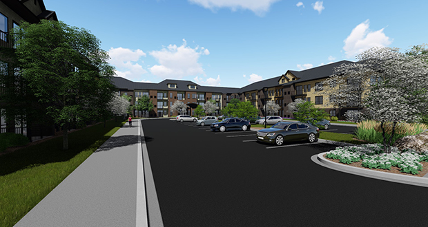Canterbury Park's new development director, Jason Haugen, is focused on this redevelopment of 140 acres of underused property at the horse track in Shakopee. (Submitted rendering )
